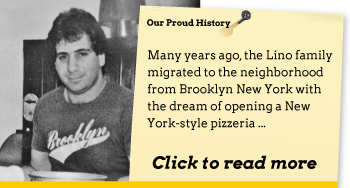Big Apple Pizza - History
